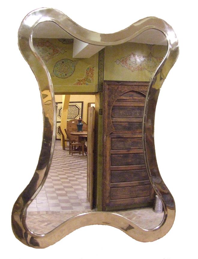 miroir maillechort